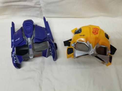Real3D - 3D Glasses of Optimus Prime and Bumblebee